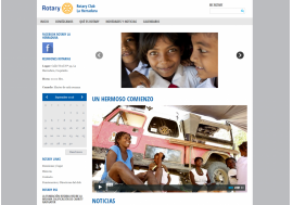 Chilean Rotary club launches website